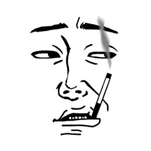 ぐず夫(自画像)