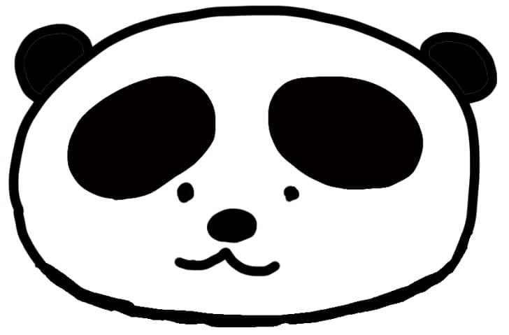 ふざけたパンダ